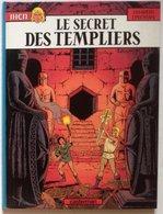No PAYPAL !! : Pleyers & Jacques Martin JHEN 6 Secret Templiers,BD Éo Casterman ©1990 TTBE/NEUF Album Bd D'Aventure Top - Editions Originales (langue Française)