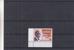 Albert Schweitzer - Rwanda - COB 792 ** - Avec Surcharge Journée Mondiale En Violet - Rwanda