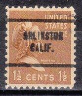 USA Precancel Vorausentwertung Preo, Locals California, Arlington 704 - Etats-Unis