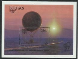 BHUTAN  YVERT  H/B 94   MNH  ** - Bhután