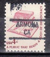 USA Precancel Vorausentwertung Preo, Locals California, Armona 841 - Etats-Unis