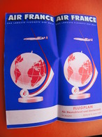AIR FRANCE-FLUGPLAN.AVION - Monde