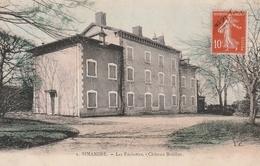 01 - Carte Postale Ancienne De   SIMANDRE   Les Pachettes  Chateau De Bouillier - Autres Communes