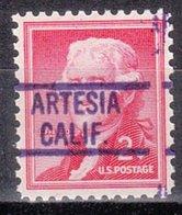 USA Precancel Vorausentwertung Preo, Locals California, Artesia 819 - Vereinigte Staaten