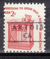 USA Precancel Vorausentwertung Preo, Locals California, Artois 881 - Etats-Unis