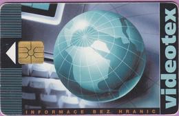 Télécarte Tchéquie °° Videotex -gem- 100j-  1995.05. - Tchéquie