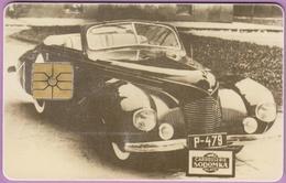 Télécarte Tchéquie °° Carrosserie Sodomka -gem- 50j-  1996.07. - Tchéquie