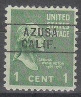 USA Precancel Vorausentwertung Preo, Locals California, Azusa 261 - Etats-Unis