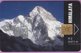 Télécarte Tchéquie °° Himalaya -gem- 50j - 50000 Exemplaires -  1994.08. - Tchéquie