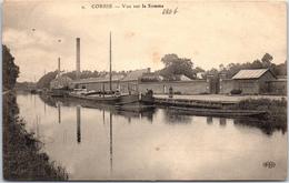 80 CORBIE - Vue Sur La Somme - Corbie