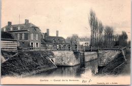 80 CORBIE - Le Canal De La Somme - Corbie