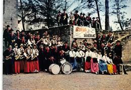 Figeac - Capdenac - Banda D'Auvergne, Groupe Folklorique - Musiciens - Rue Charles Salvy - Photo M. Manens - Figeac