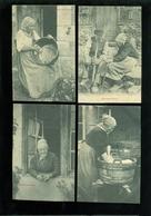 "Beau Lot De 9 Cartes Postales De France "" Nos Bons Vieux ""  Folklore  9 Postkaarten Frankrijk - 9 Scans - Cartes Postales"