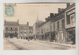 CPA SILLE LE GUILLAUME (Sarthe) - Place Saint Etienne - Sille Le Guillaume