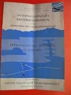 INTERNATIONALES MOTORBOOTRENNEN...SEEWALCHEN A.ATTERSEE.MOTOR YACHT CLUB SALZKAMMERGUT - Europe