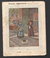Cahier D'écolier Avec Couverture Illustrée :  Fraudes Alimentaires :le Pain (PPP10077) - Protège-cahiers