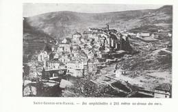1924 - Iconographie - Saint-Sernin-sur-Rance (Aveyron) - Vue Générale - FRANCO DE PORT - Vieux Papiers