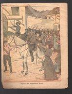 Couverture Illustrée De Cahier D'écolier : Affaires Du Transvaal : Départ Des Volontaires Boers (PPP10079) - Protège-cahiers
