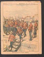 Couverture Illustrée De Cahier D'écolier : Affaires Du Transvaal : Embarquement De L'armée Anglaise  (PPP10080) - Protège-cahiers