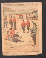 Couverture Illustrée De Cahier D'écolier : Affaires Du Transvaal : Les Prisonniers Anglais,à,Prétoria  (PPP10081) - Protège-cahiers