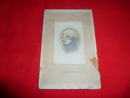 Antica Ed Originale Fotografia Del Musicista Richard Wagner Compositore Tedesco Musician Composer German - Persone Identificate