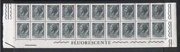 REPUBBL.  VARIETA': 1968 TURRITA  ST. IV°  FL. + ARABICA  -  £. 5  ARDESIA  BL. 20  N. -  C.E.I. 1084 - 6. 1946-.. Repubblica