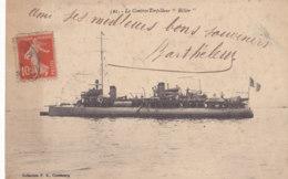Militaire (Bateaux) - Bélier - Contre Torpilleur - Guerre