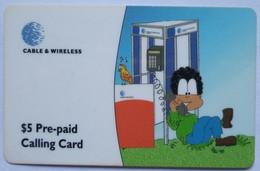 $5 Remote Cartoon - Dominica