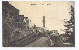 POMARANCE ( PISA ) VIA DEI FOSSI - ED. FONTANELLI 1916 (2979) - Pisa