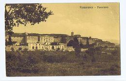 POMARANCE ( PISA ) PANORAMA - EDIZ. FONTANELLI - 1916 (3025) - Pisa