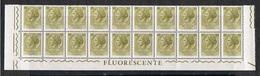 REPUBBL.  VARIETA': 1968 TURRITA  ST. IV°  FL. + ARABICA  -  £. 50  OLIVA  CHIARO  BL. 20  N. -  C.E.I. 1092 - 6. 1946-.. Repubblica
