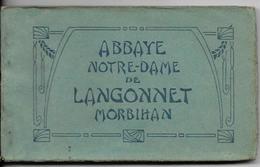 LANGONNET, Carnet De 24 CPA De L'Abbaye - France