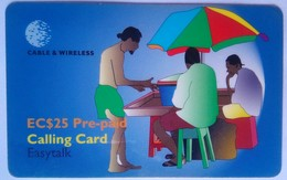 $25  Umbrella Cartoon - St. Vincent & Die Grenadinen