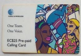 $25 One Team One Voice - Saint-Vincent-et-les-Grenadines