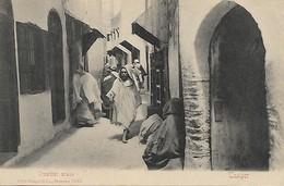 CPA Animée De 1905: Tanger (Maroc) - Quartier Arabe - Tanger