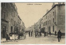 1 Cpa Lunéville - Rue Castara - Luneville