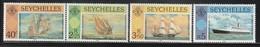 SEYCHELLES - N°466/9 ** (1981)  Bateaux - Seychelles (1976-...)