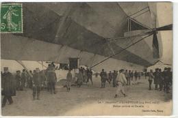 1 Cpa Lunéville - Le Zappelin - Hélice Arrière Et Nacelle - Luneville