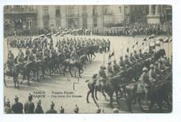 Namur - Revue Des Troupes Allemandes Truppen Parade - Namur