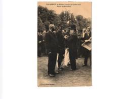 VISITE A NANCY DES MINISTRES LORRAINS ,28 JUILLET 1912 REMISES DES DECORATIONS ,JOLI PLAN REF 58562C - Réceptions