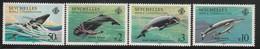 SEYCHELLES - N°565/8 ** (1984)  Protections Des Baleines - Seychelles (1976-...)