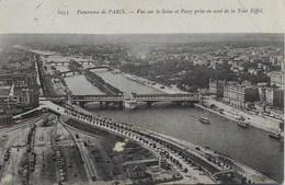 Paris - Vue Sur La Seine Et Passy Prise En Aval De La Tour Eiffel - Eiffelturm