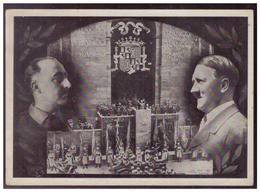 Dt- Reich (007505) Propagandakarte, Heimkehr Legion Condor, 1939, Karte Hat Einriss, Gelaufen Mit SST Berlin Am 6.6.1939 - Deutschland