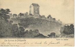 Les Environs De Philippeville - Ruines De SAUTOUR - Nels Série 87 N° 2 - CPA PEU COURANTE - Cachet Poste 1903 - Philippeville