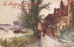 """Jotter. New Bridge. Middlesex"" Tuck Oiette Picturesque Counties Series PC # 7127 - Tuck, Raphael"