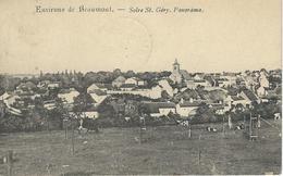 Environs De Beaumont - SOLRE ST. GERY : Panorama - Cachet De La Poste 1913 - Beaumont