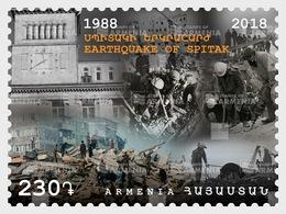 Armenië / Armenia - Postfris / MNH - Aardbeving Spitak 2018 - Armenië