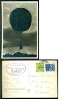 """Nederland 1953 Ballonpost Via """"Delia Mouton"""" Met Stempel En Duitse En Nederlandse Zegel - 1949-1980 (Juliana)"""