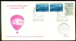 Nederland 1978 Ballonpost 800-jarig Bestaan Helmond AS Someren VH N 436c Of 436e - Periodo 1949 - 1980 (Giuliana)