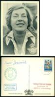 Nederland 1984 Ballonpost Koninginnedag BS Vlaardingen AS Goudswaard Piloot Marian Demenint - Periode 1980-... (Beatrix)